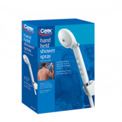 Carex Hand Held Shower Spray with Diverter Valve