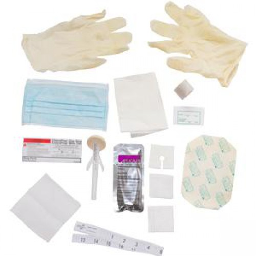 Central Line Dressing Change Kit with Chloraprep