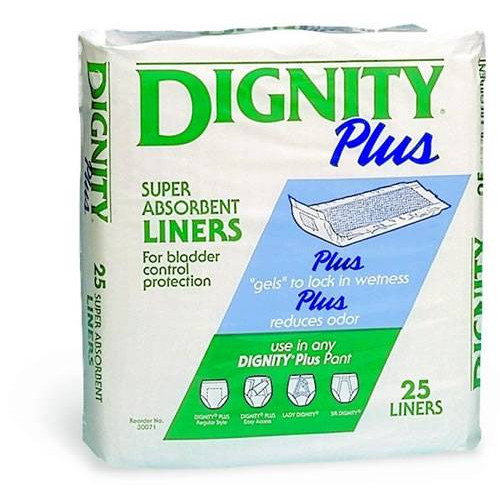 Dignity Plus Super Absorbent Liners