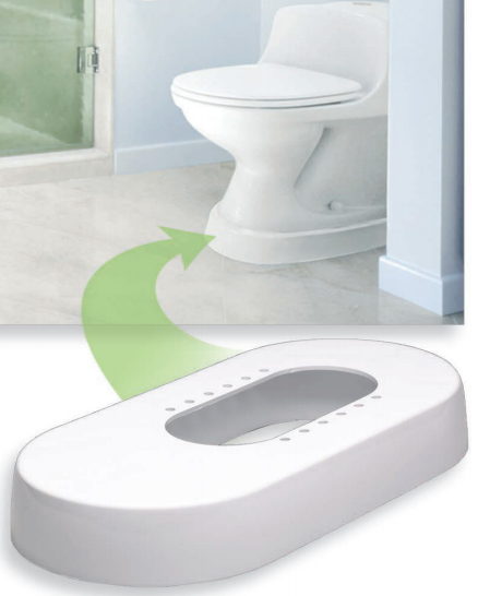 Toilevator toilet riser tv300 tvg350 grande vitality for Grande commode