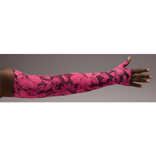 LympheDivas Bali Sunset Compression Arm Sleeve 20-30 mmHg w/ Diva Diamond Band