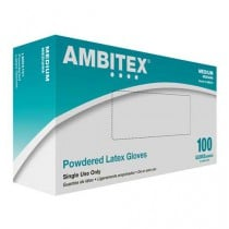 Ambitex Powdered Latex Gloves L5101 Series