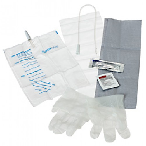 EasyCath Coude Intermittent Catheter Tray