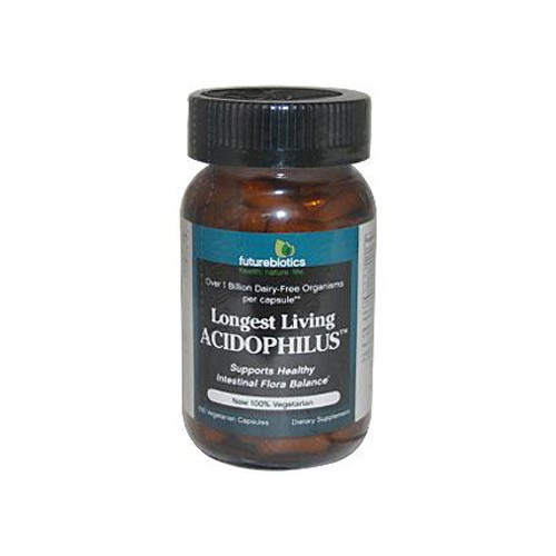 FutureBiotics Longest Living Acidophilus Plus Dietary Supplement