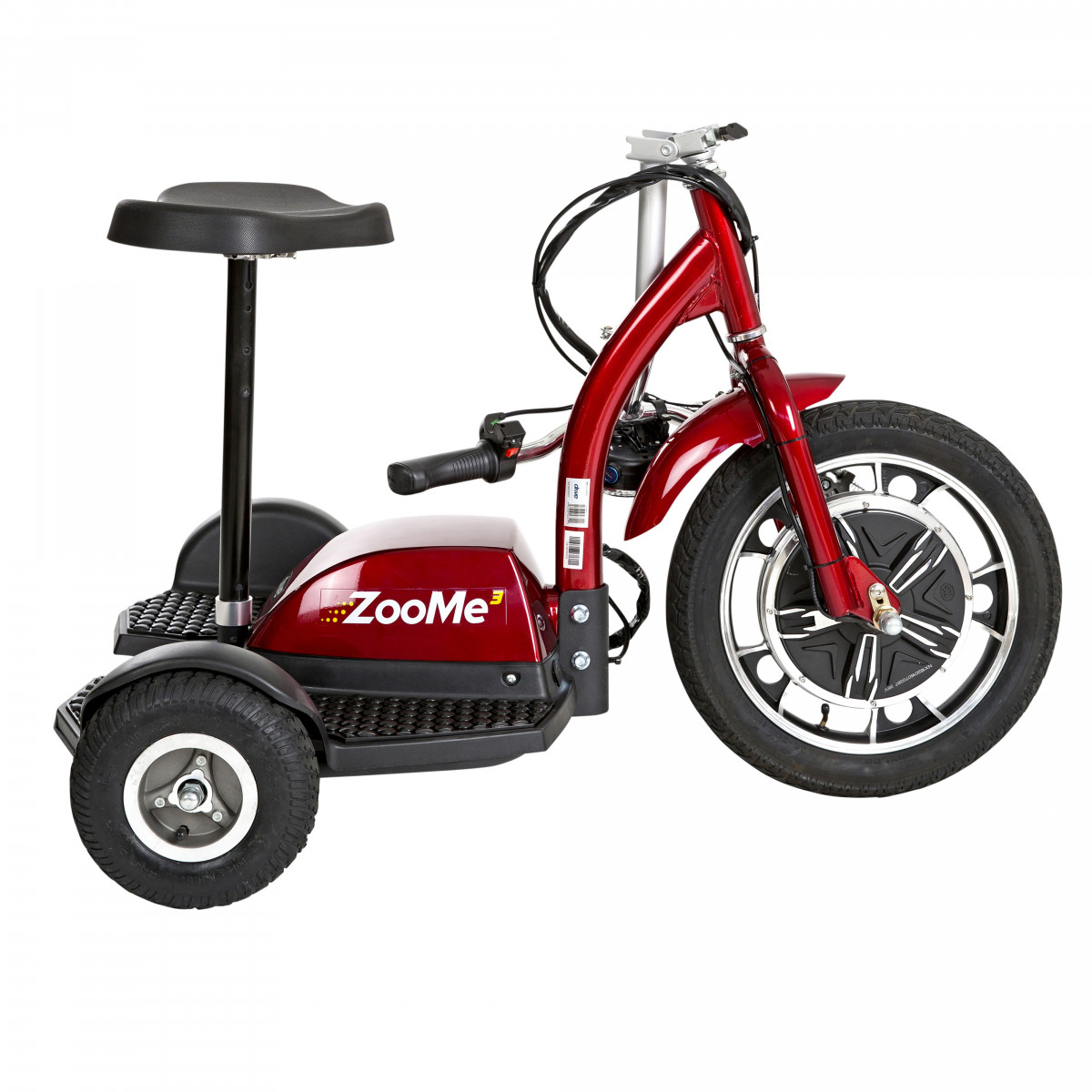 zoome 3 wheel recreational scooter 8cb