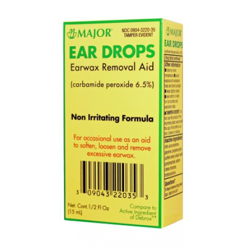 Non-Irritating Ear Drops