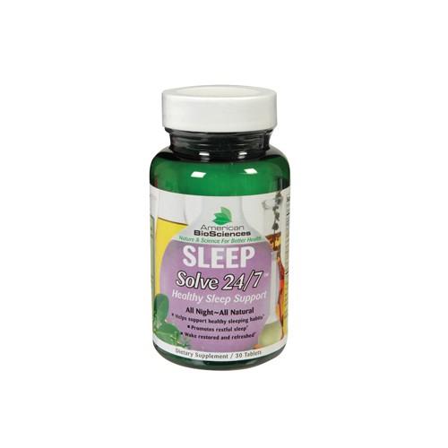 American Bio Science Sleep Solve 24 7 Natural Sleep Aid