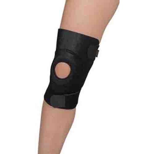 Leader Reinforced Neoprene Knee Wrap Universal