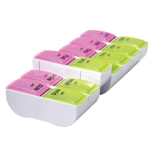 7-Day AM/PM XL Detach N' Go Pill Organizer