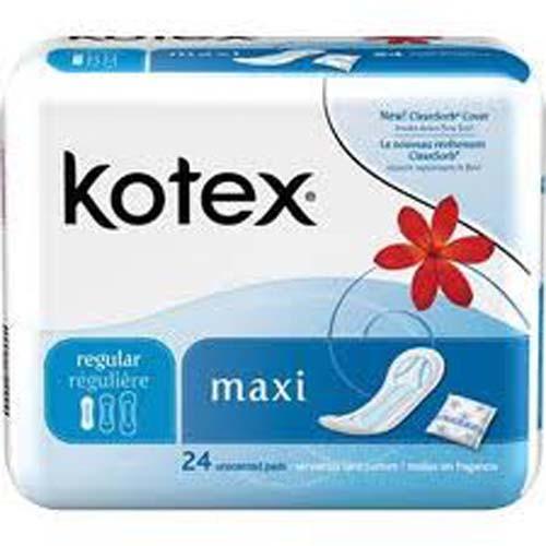 Kotex Maxi Pads Regular