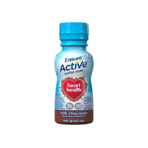 Ensure Active Heart Health Nutrition Shakes Chocolate - 8 oz