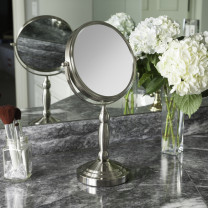 Two-Sided Vanity Swivel Mirror 10X/1X
