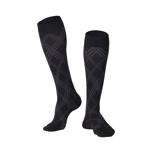 Modern Argyle Compression Socks 20-30 mmHg