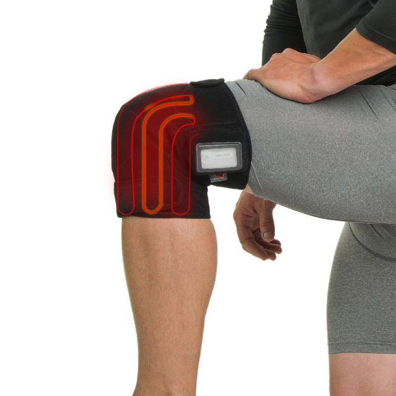 Venture Heat Knee Wrap Rechargeable Heat Therapy Hot Cold Therapy Pain Relief Amp Comfort