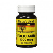 Natures Blend Folic Acid