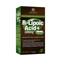 Genceutic Naturals R Lipoic Acid Plus 300 mg Dietary Supplement