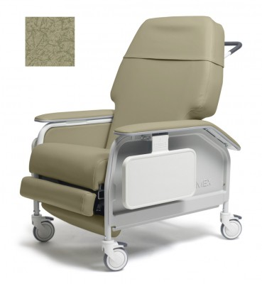 lumex extra wide clinical care geri chair recliner 21c