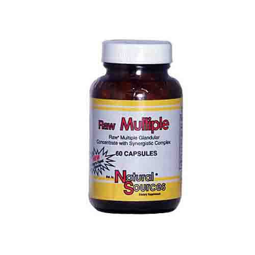 Raw Multiple Glandulars Dietary Supplement