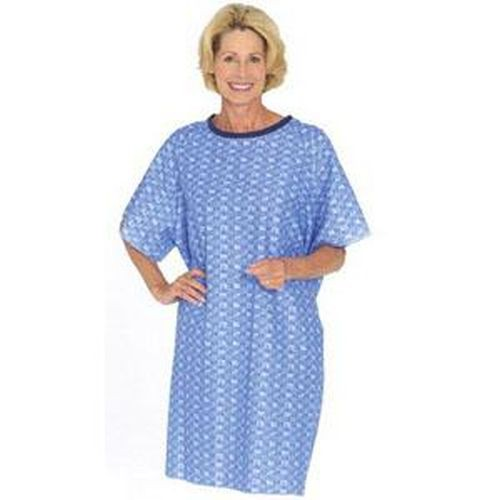 Salk TieBack Traditional Hospital Style Patient Gown | 550B, 550BM ...