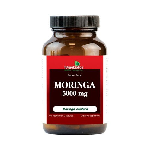FutureBiotics Moringa 5000 mg Dietary Supplement