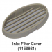 SOLO2 Inlet Filter Cover (Part of Assembly - 1156861)