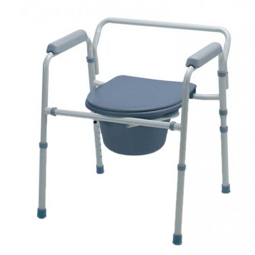 Guardian G30213-1F Deluxe Bedside Commode