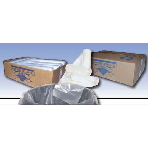 Premium Clear Liners - 33 Gallon - 33 x 40 Extra Heavy Duty