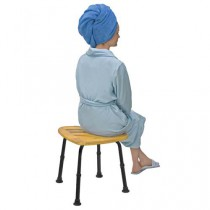Bamboo Bath Seat or Shower Chair Adjustable