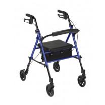 Lightweight Aluminum Rollator Walker