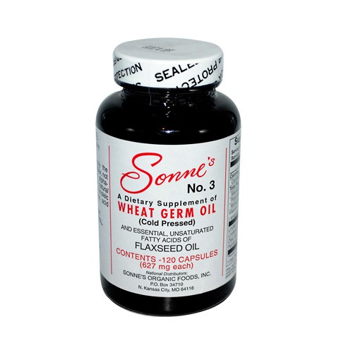 Sonnes Number 3 Wheat Germ Oil