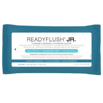ReadyFlush JR. Flushable Personal Cleansing Cloths