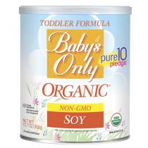 Babys Only Organic Soy Formula
