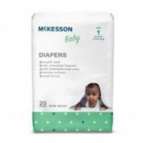 McKesson Baby Diapers Tab Closure
