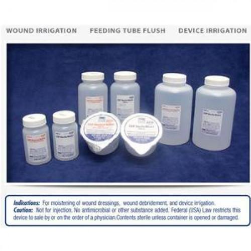 Sterile Saline 100 cc & 120 cc Unit Dose Irrigation Solutions