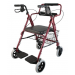 Transport Rollator with Footress