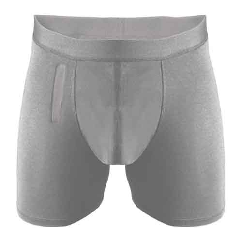 Confitex Men's Brief with Fly, Light Absorbency