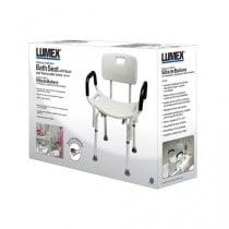Lumex Platinum Bath Seat with Arms