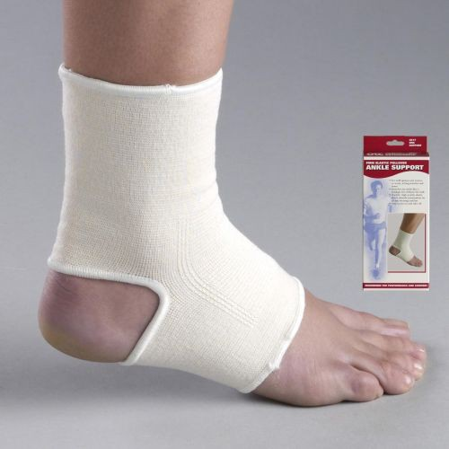 Pull-On Elastic Ankle Support