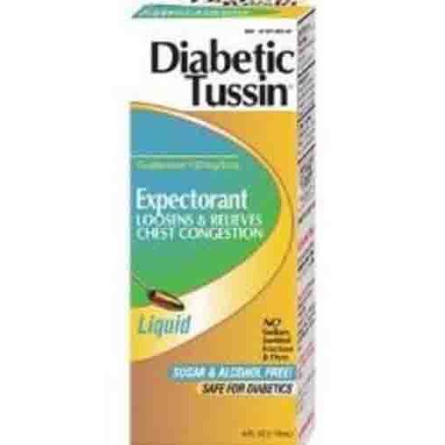 Diabetic Tussin Expectorant Liquid