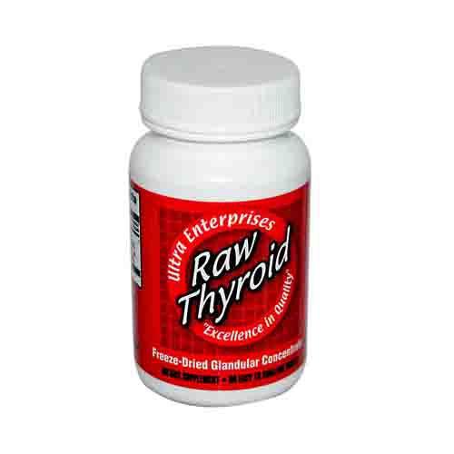 Raw Thyroid Glandulars