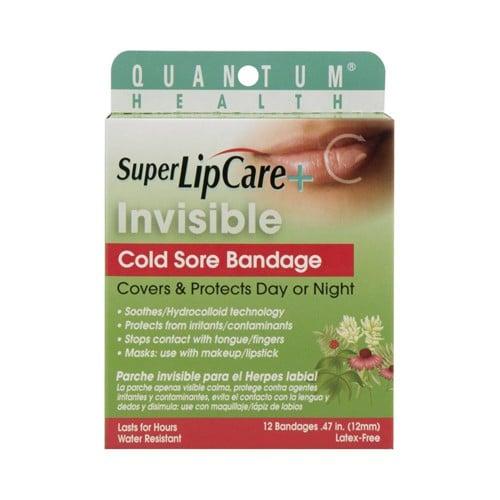 Quantum Research Lipcare Plus Invisible Cold Sore Bandage