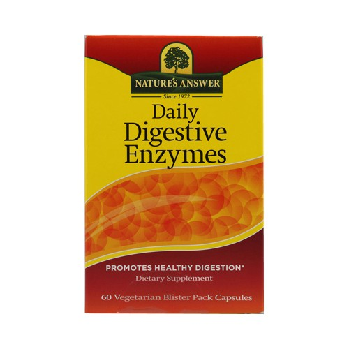 Nature's Answer Daily Digestive Enzymes