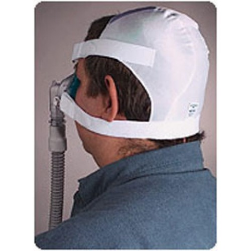 Respironics Cpap Headgear Softcap White Large