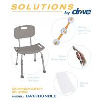 Shower Tub Chair Bathroom Safety Bundle