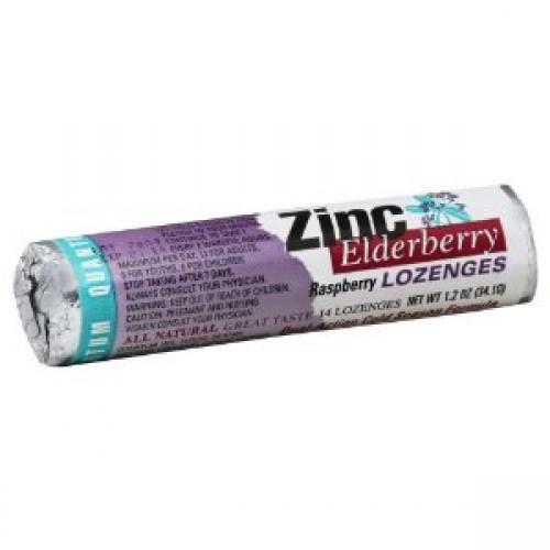 Quantum Zinc Lozenges Elderberry Raspberry