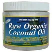 Health Support Raw Coconut Oil Dietary Supplement