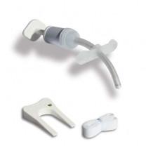 Bivona Straight & V Flange Uncuffed Neonatal Flextend Tracheostomy Tubes