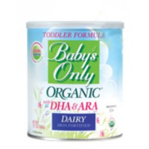 Babys Only Organic Dairy Toddler Formula with DHA and ARA