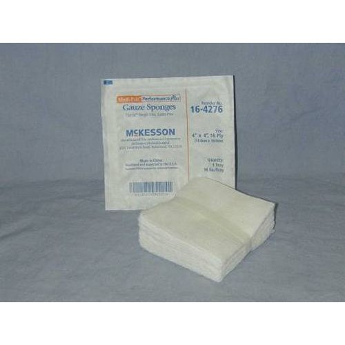 USP Type VII 4 x 4 Inch Gauze Sponge 16 Ply, Sterile - 16-4276
