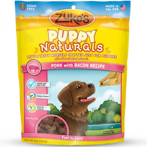 Puppy Naturals Pork with Bacon